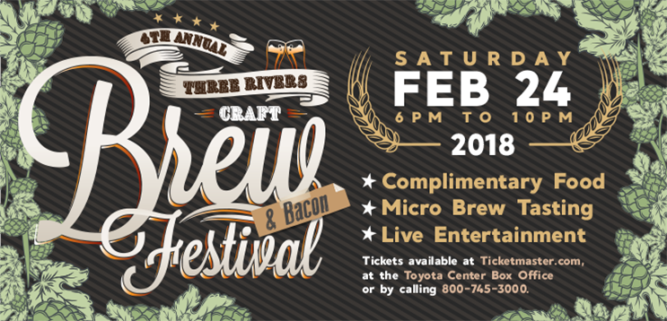 4th Annual Three Rivers Craft Brew & Bacon Festival