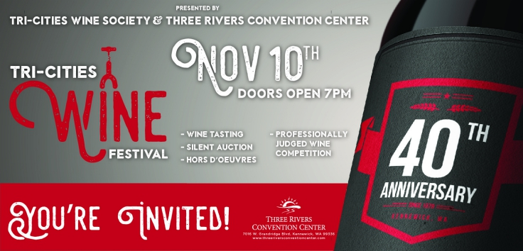40th Annual Tri-Cities Wine Festival