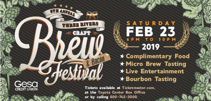 5th Annual Three Rivers Craft Brew & Bacon Festival