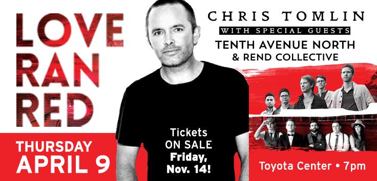 Chris Tomlin - Love Ran Red Tour
