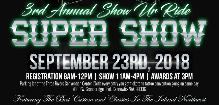 3rd Annual Shor Ur Ride Super Show