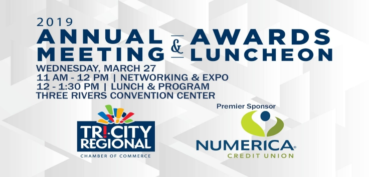 Tri-City Regional Chamber Annual Meeting & Awards Luncheon