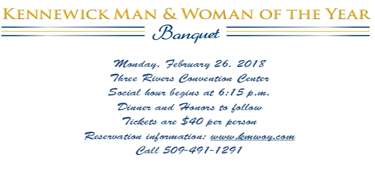 Kennewick Man & Woman of the Year Award Banquet