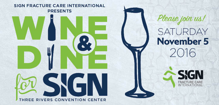 Wine & Dine for SIGN