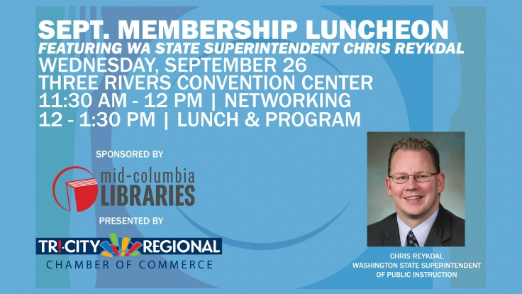 Tri-City Regional Chamber September Membership Luncheon