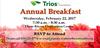 Trios Foundation Annual Breakfast
